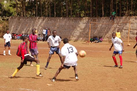 kenya soccer donations
