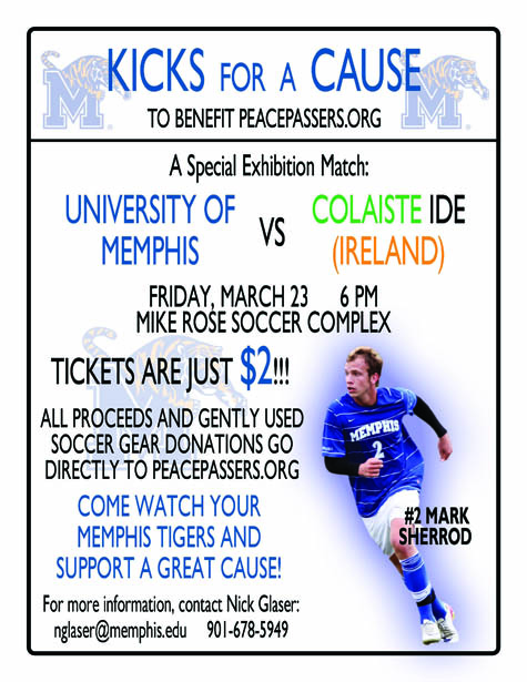 university of memphis soccer fundraiser